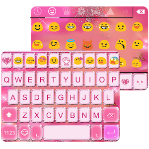 Shining Emoji Keyboard Theme