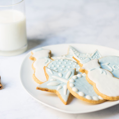 French Christmas Cookies (Sablés)