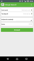 Screenshot of OTP Smart Bank Romania