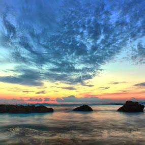 The 3 rocks by Kristian Hadinata - Landscapes Waterscapes