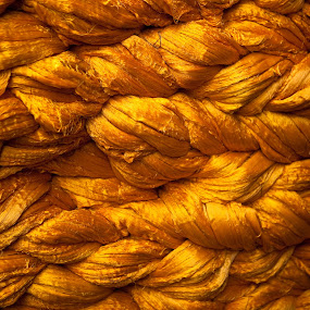 Golden Coloured Wool by Peter Podolinsky - Artistic Objects Other Objects