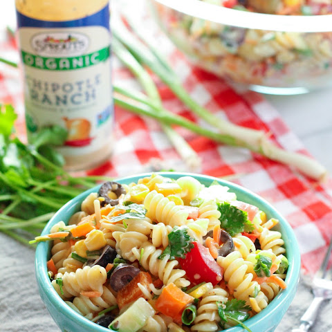 Chipotle Ranch Summer Pasta Salad