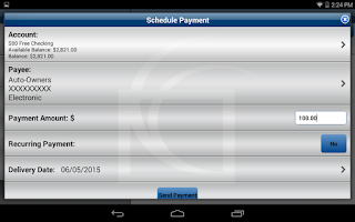 Screenshot of CCF Mobile Money - Tablet