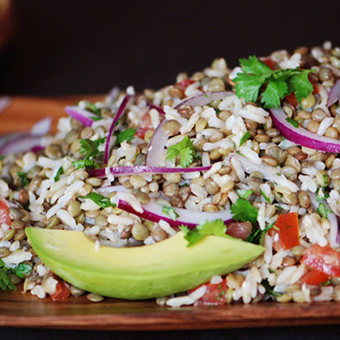 Lentil and Rice Salad