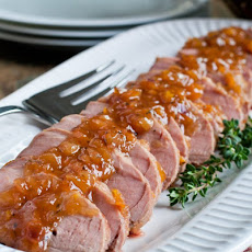 Sweet and Sour Glazed Pork Tenderloin