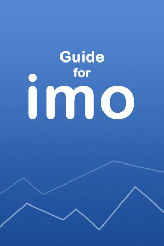 Guide for imo Free Video Calls Screenshot