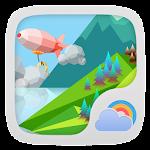 Mount Background GO Weather Icon