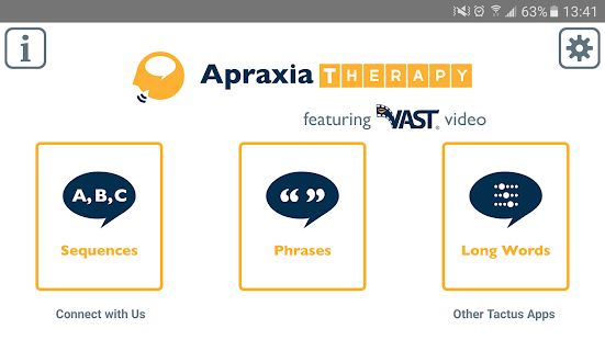 Apraxia Therapy screenshot for Android