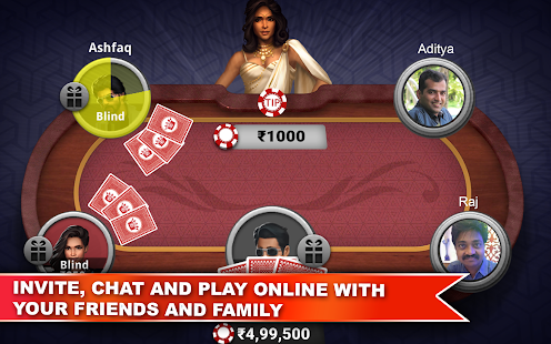 Teen Patti Platinum 3D Screenshot
