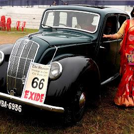 VINTAGE CAR RALLY.. by Ajit Kumar Majhi - Transportation Automobiles