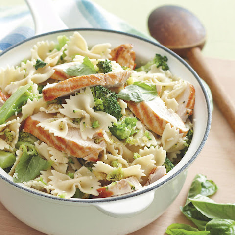 Broccoli Basil Pasta with Chicken