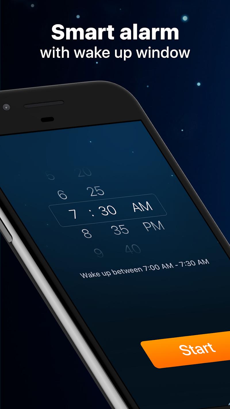 Sleep Cycle: sleep analysis & smart alarm clock Screenshot 0
