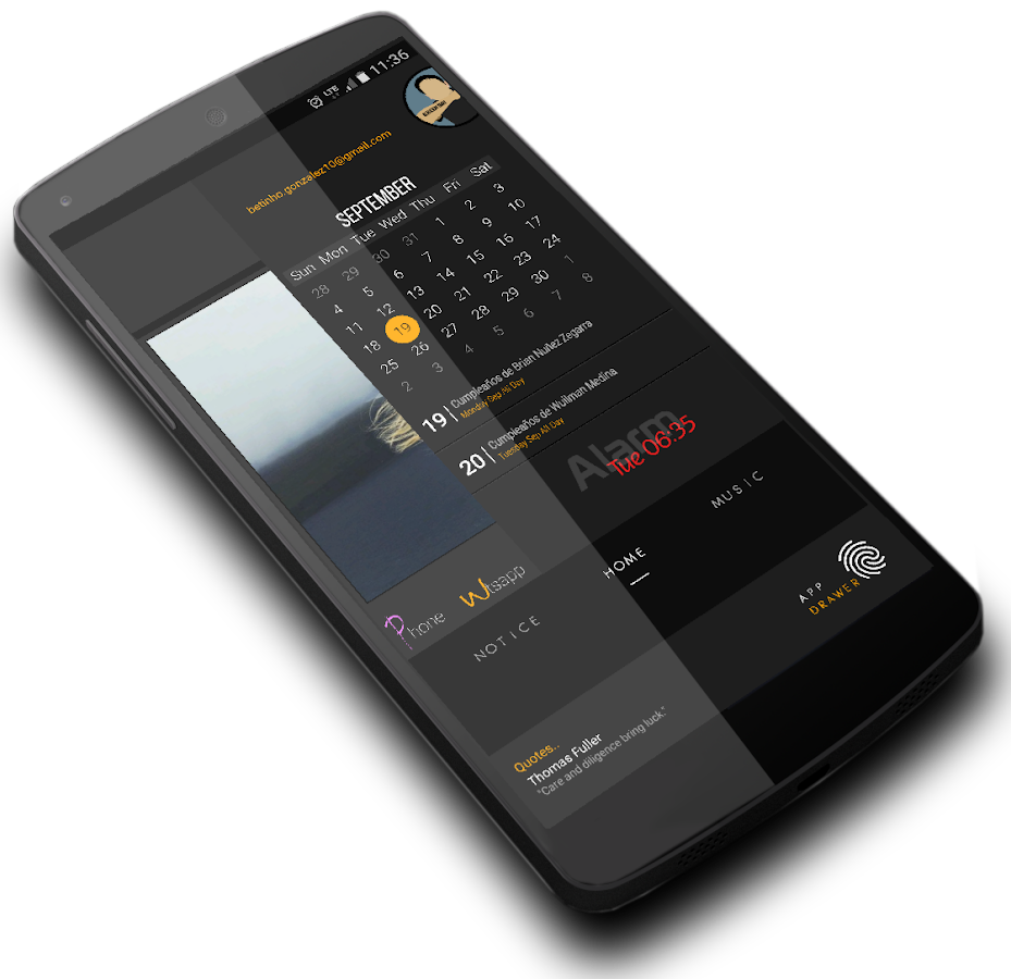 EleganTT for Klwp Screenshot 4