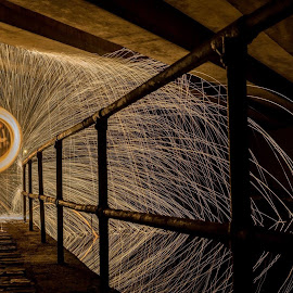 by Paul Bickley - Abstract Light Painting