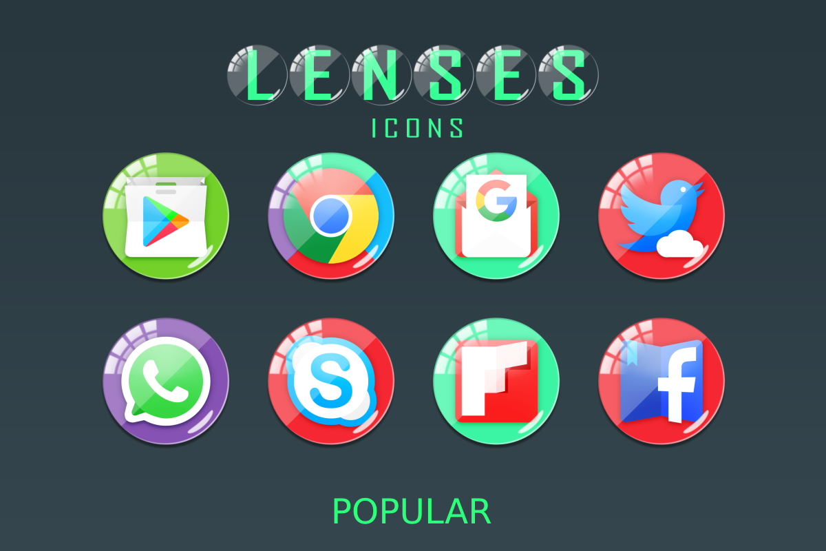 Lenses Icon Pack Screenshot 8