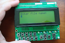 Serial 20X4 LCD keypad panel - Phi-panel