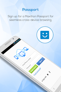 Maxthon Browser - Fast&Secure Screenshot