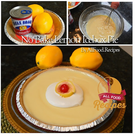 No Bake Lemon Icebox Pie