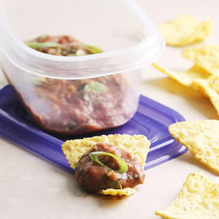Zesty Bean Dip & Chips