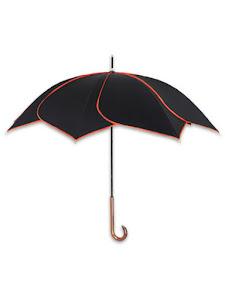 """Зонт трость """"Цветок"""", оранжевый"""