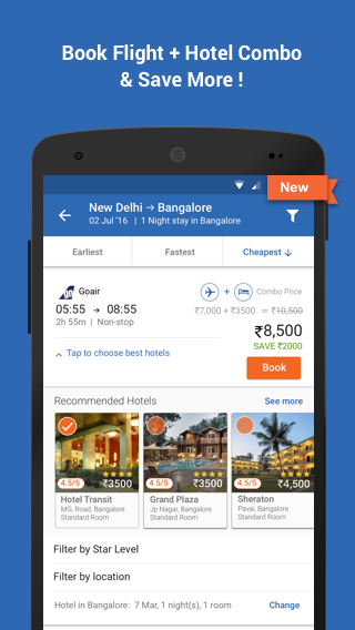 Goibibo: Book Hotel Flight Bus Screenshot 6