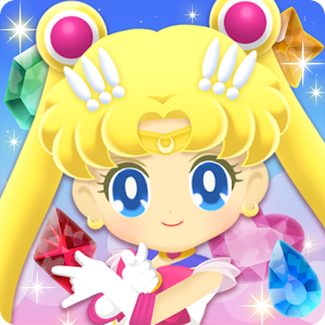 Appeared in Sailor Moon's first appNow you'll Punishment puzzle ♪Sailor warrior moves cute!Exhilarating puzzle action ☆ APK Icon