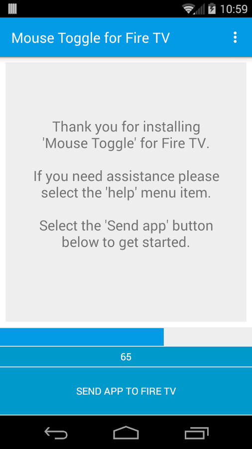 Mouse Toggle for Fire TV Screenshot