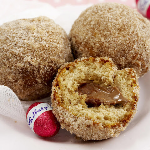 Chocolate-Filled Doughnuts
