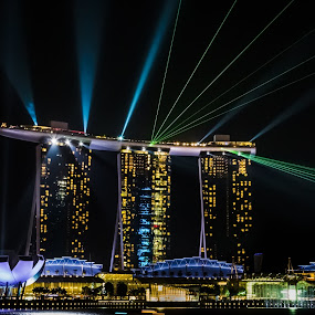 MBS, Singapore. by Joon Ming - Travel Locations Landmarks