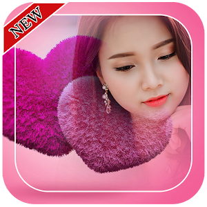 Fluffy Heart Photo Frames for PC-Windows 7,8,10 and Mac