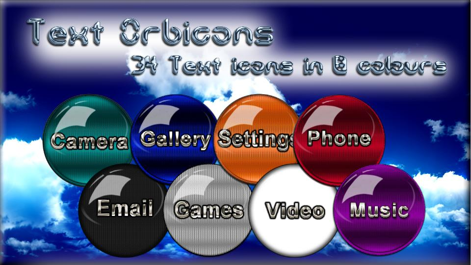 Icon Pack HD Orbicons Screenshot 7