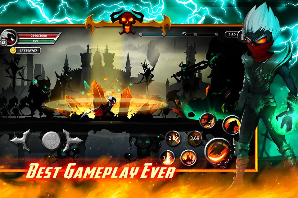 Stickman Legends - Ninja Warriors Games Screenshot 3