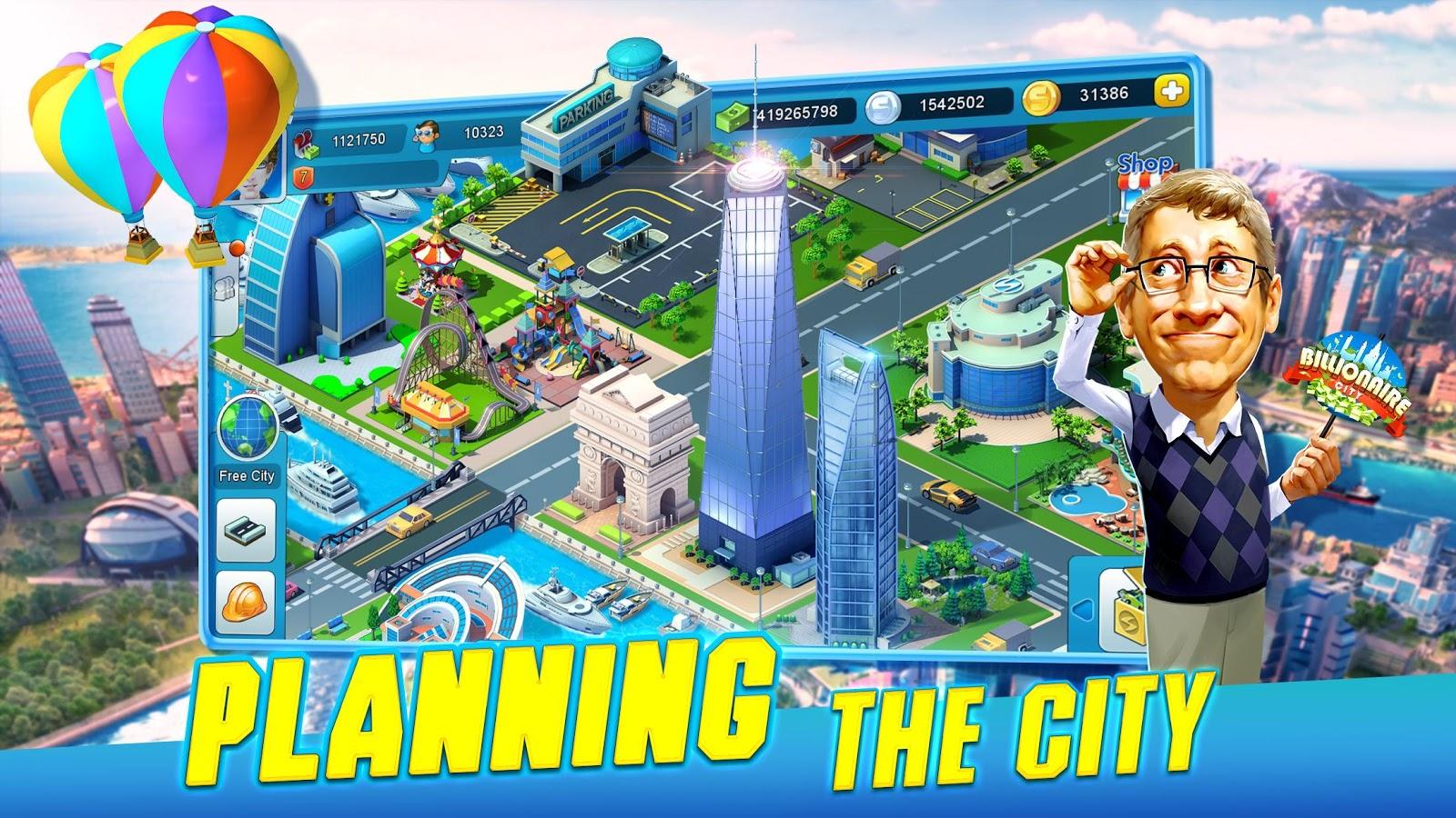 Billionaire Stadt android spiele download