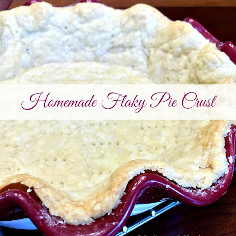 Homemade Flaky Pie Crust