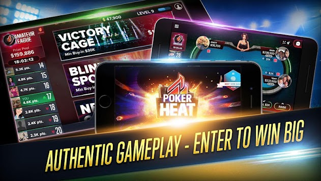 Poker Heat - Free Texas Holdem APK screenshot thumbnail 5