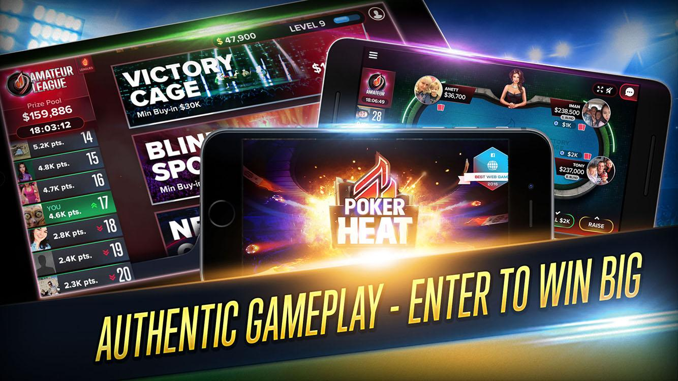 Poker Heat - Free Texas Holdem Poker Screenshot 4