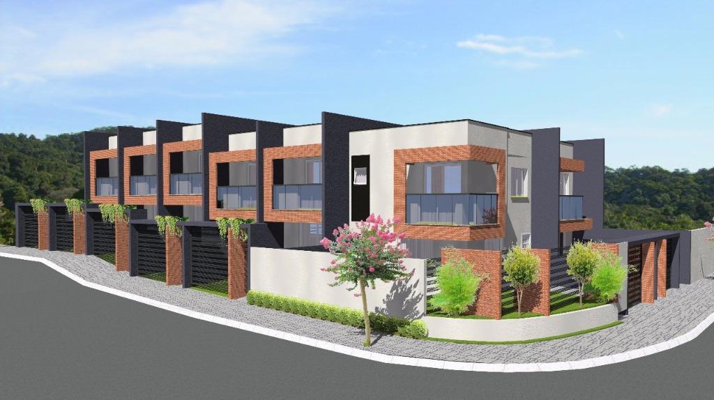 Sobrado com 2 dormitórios à venda, 72 m² por R$ 240.000 - Costa e Silva - Joinville/SC