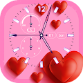 Free Love Clock Live Wallpaper APK for Windows 8