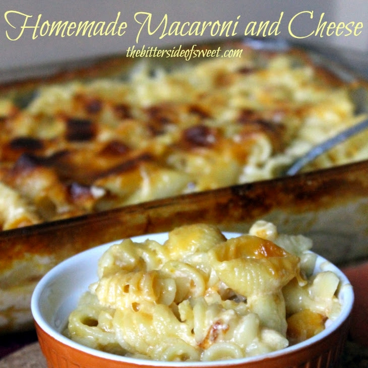 Homemade Macaroni and Cheese Recipe | Yummly