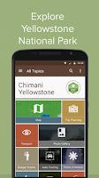 Screenshot of Chimani Yellowstone NP
