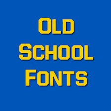 Old School Fonts Free