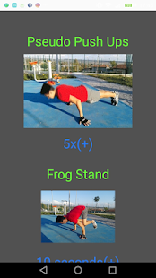 Street Workout - Trainings Screenshot