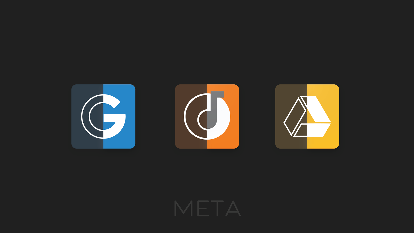 Meta Iconpack Beta Screenshot 4