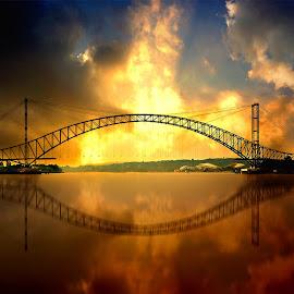 by Daniel Chang - Buildings & Architecture Bridges & Suspended Structures