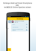 Screenshot of WEB.DE Mail
