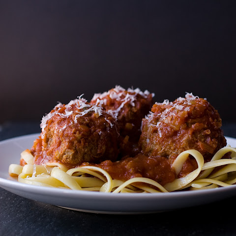 Slow cooker Meatballs and Marinara