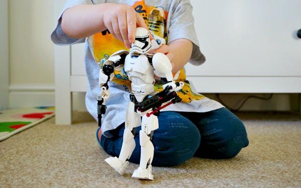 George at Asda stormtrooper toy
