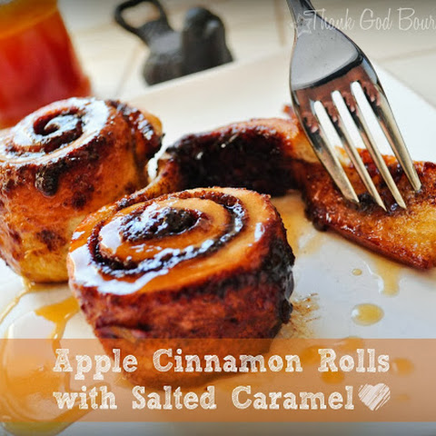 Caramelized Apple Cinnamon Rolls (The Gingered Whisk) Recipe | Yummly