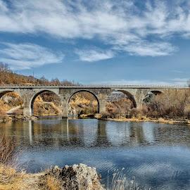 Bridge on the Uvac by Miloš Karaklić - Landscapes Travel