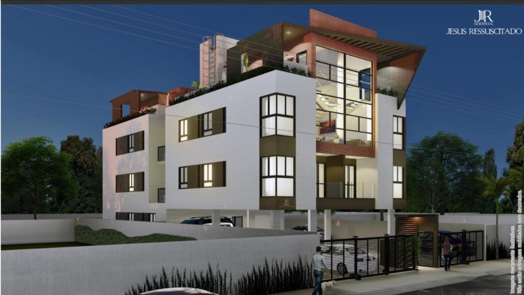 Apartamento com 2 dormitórios à venda, 53 m² por R$ 179.600 - Altiplano - João Pessoa/PB